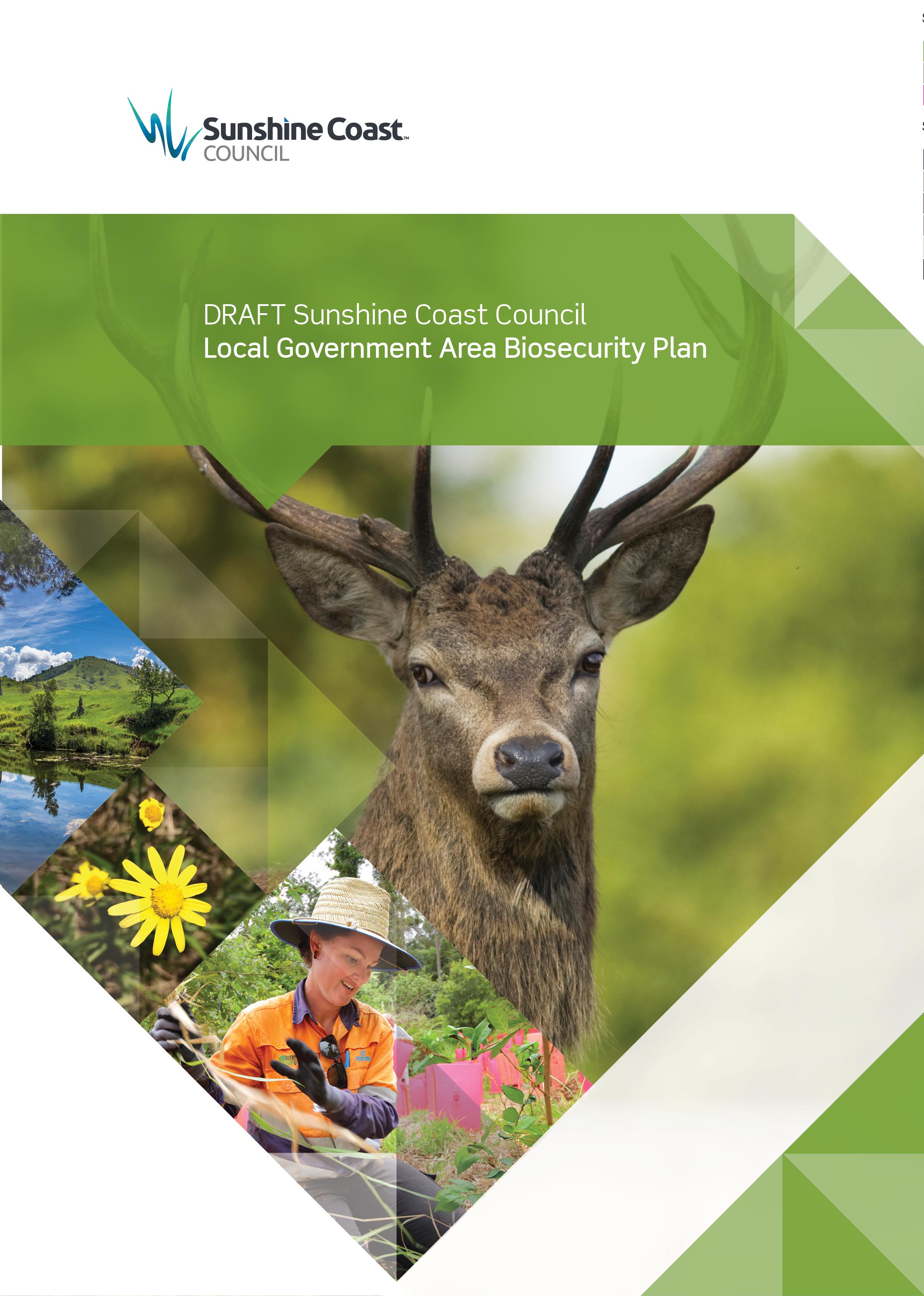 Draft Sunshine Coast Local Government Area Biosecurity Plan