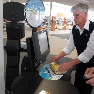 Self Check at Port Macquarie Library