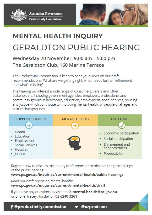 Mental health inquiry