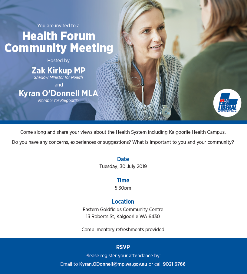 Health forum community 30.07.2019