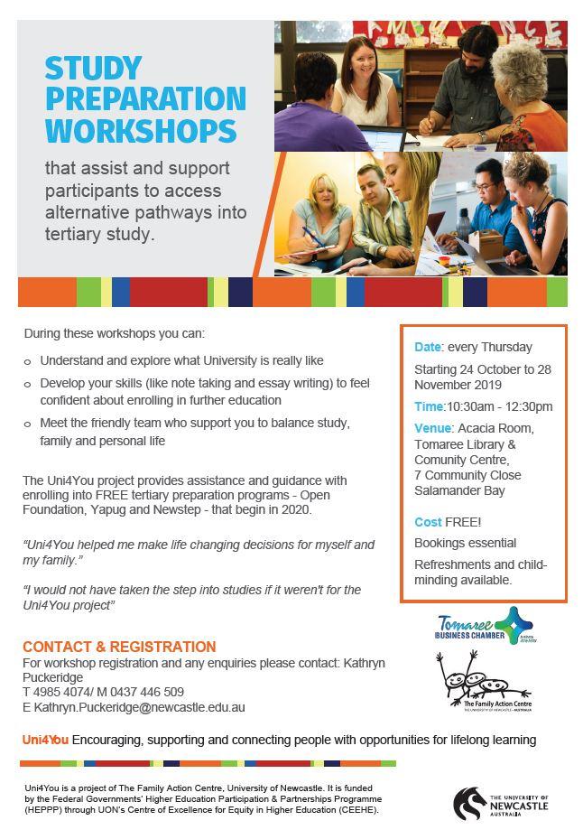Study prep workshops