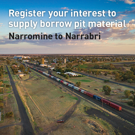Inland Rail 'pay dirt' opportunities for farmers in Narrabri to