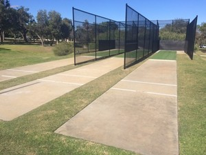 David cruickshank reserve   cricket nets