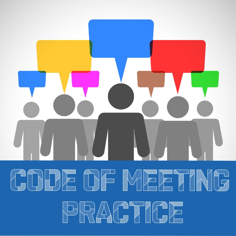 Draft Code of Meeting Practice