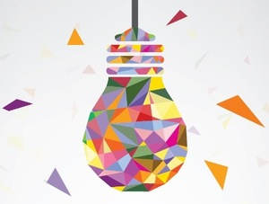 Lightbulb coloured sm