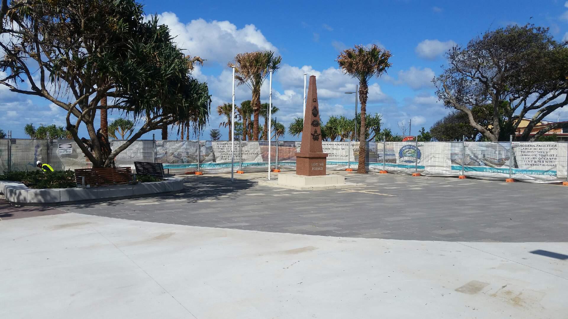 Kingscliff cenotaph