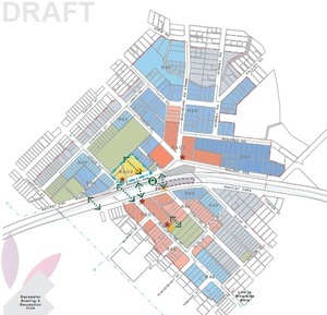 Draft structure plan map