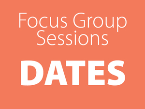 Focus group dates tile
