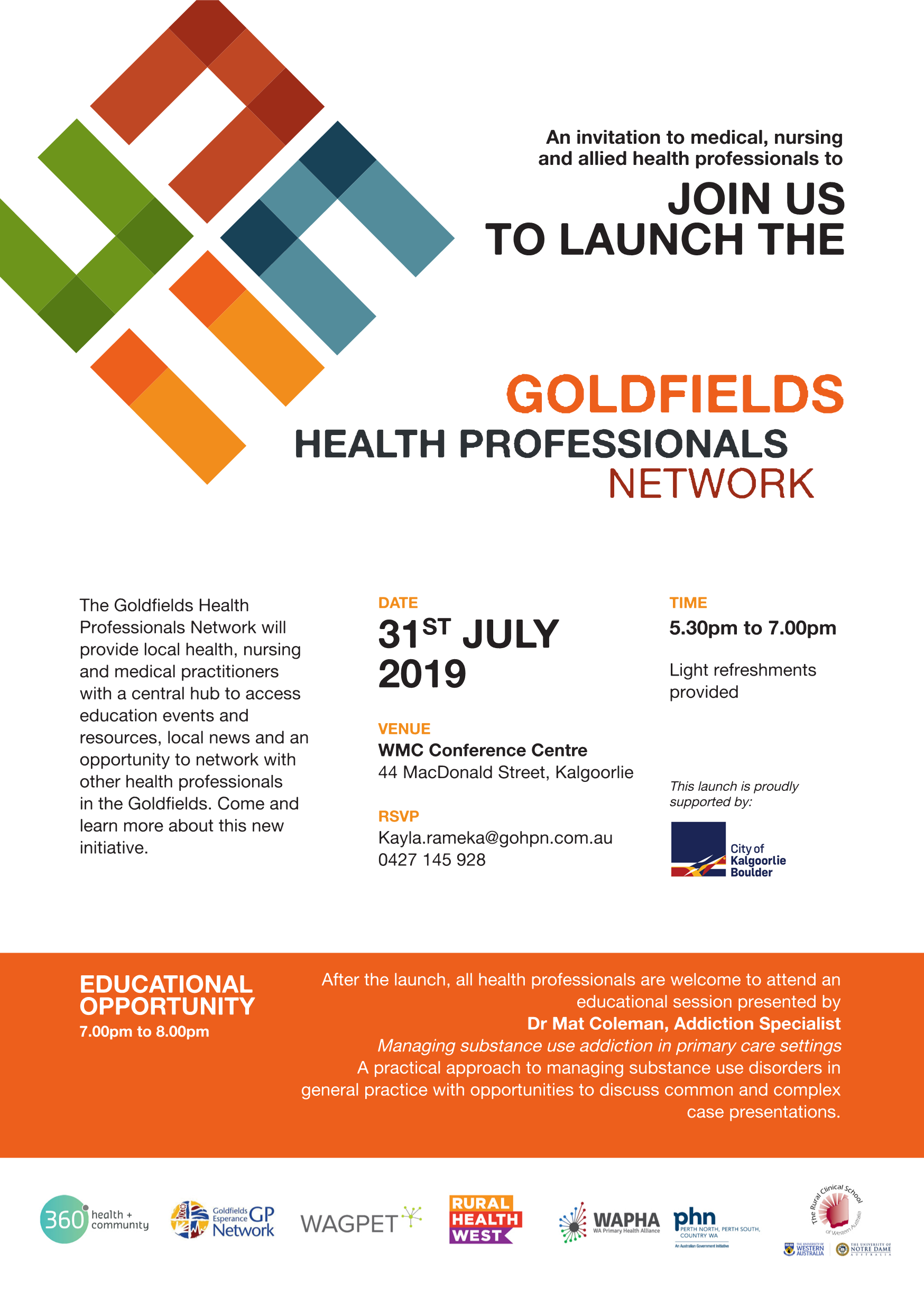 Gohpn launch invite 31.07.2019