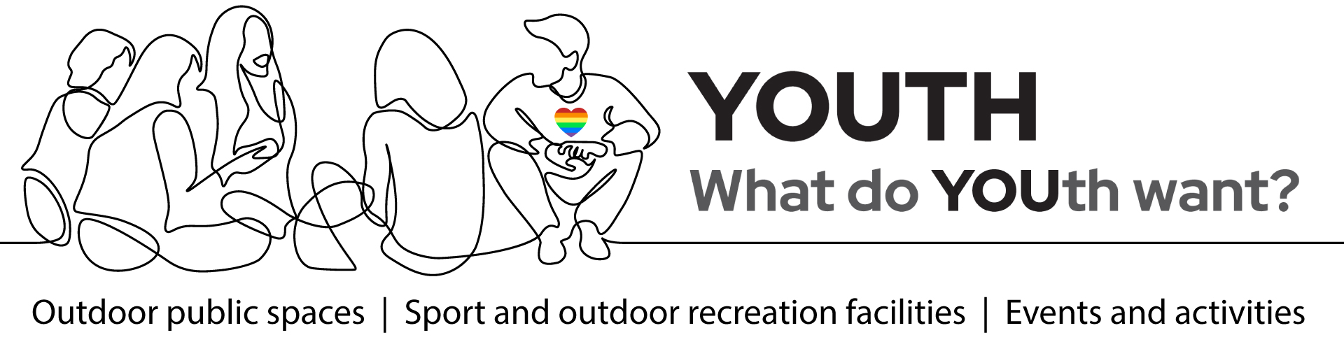 YOUTH - What do YOUth want? | Outdoor public spaces | Sport and outdoor recreation facilities | Events and activities