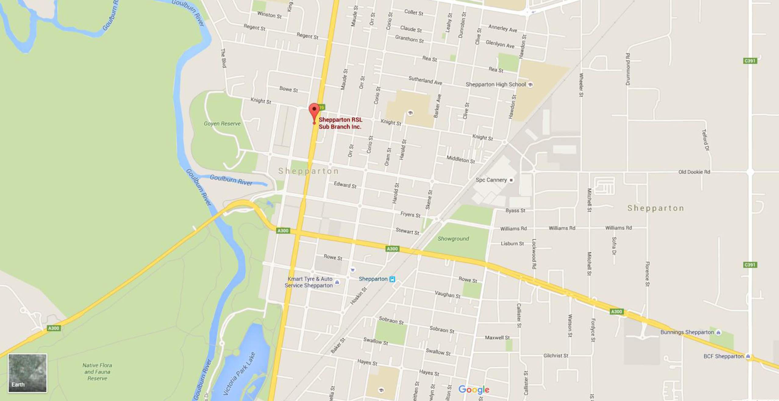 Shepparton Map Have Your Say CEHL
