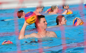 Water polo training 2