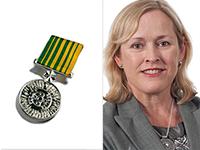 Gail medal hq