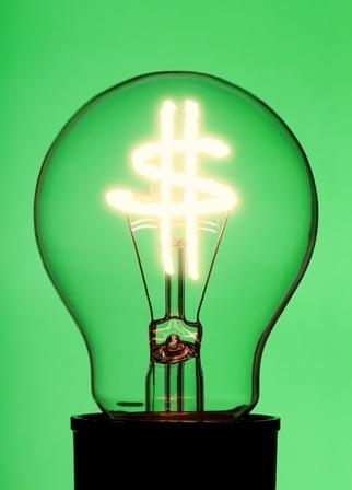 Light bulb energy small