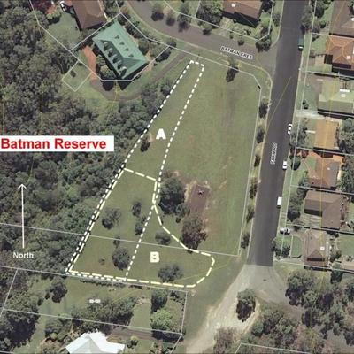 Map Batman Reserve Dog Off-Leash Options