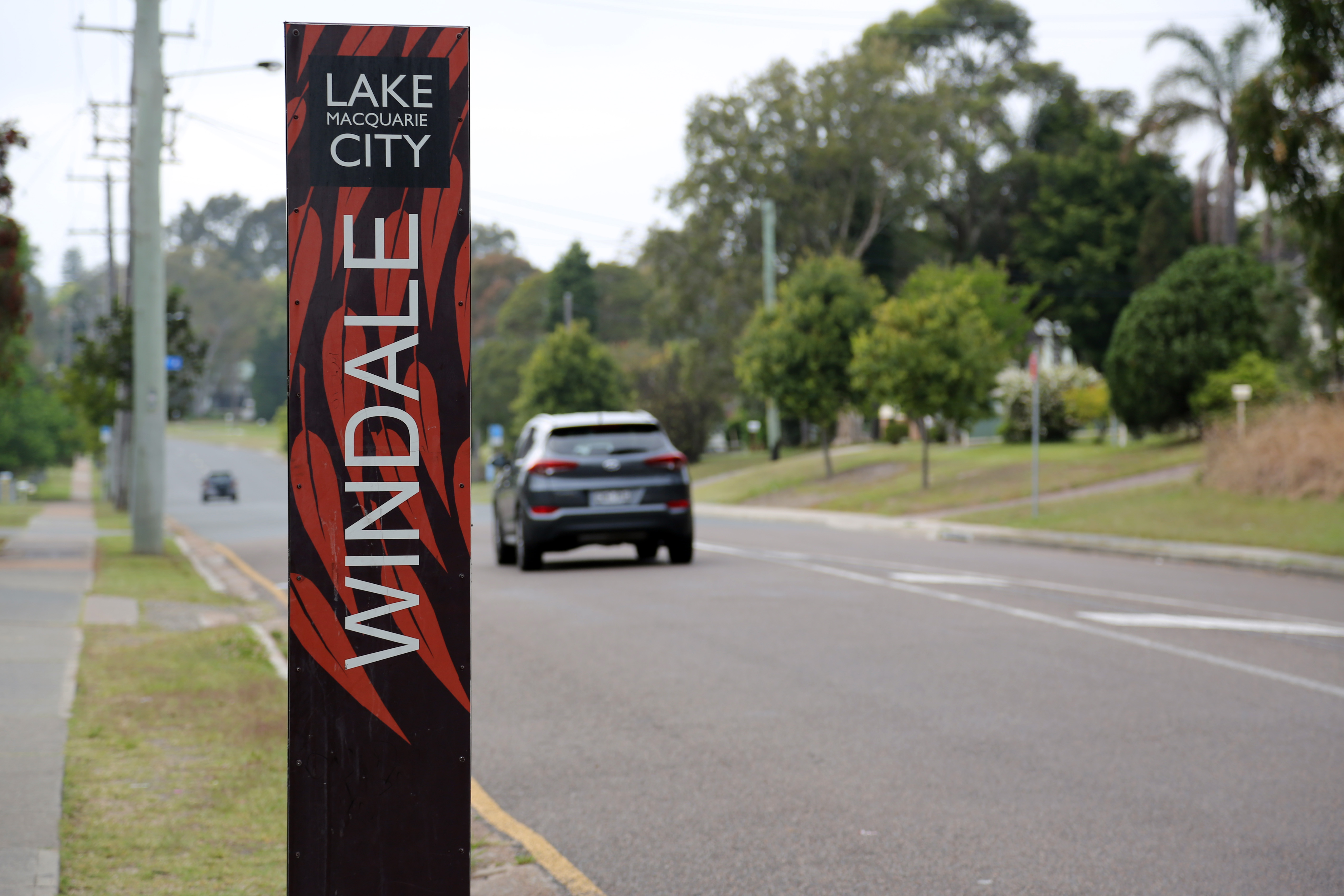 Windale suburb sign