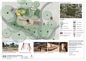 Lowanna park   draft playground plan