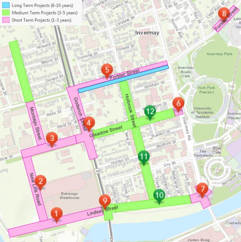 Improving traffic flow in Invermay