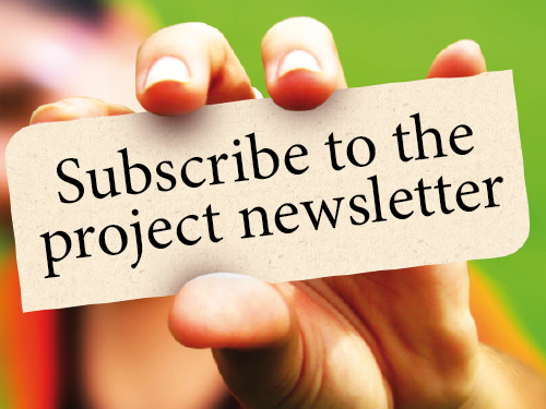 Subscribe to receive emailed updates - hyperlink