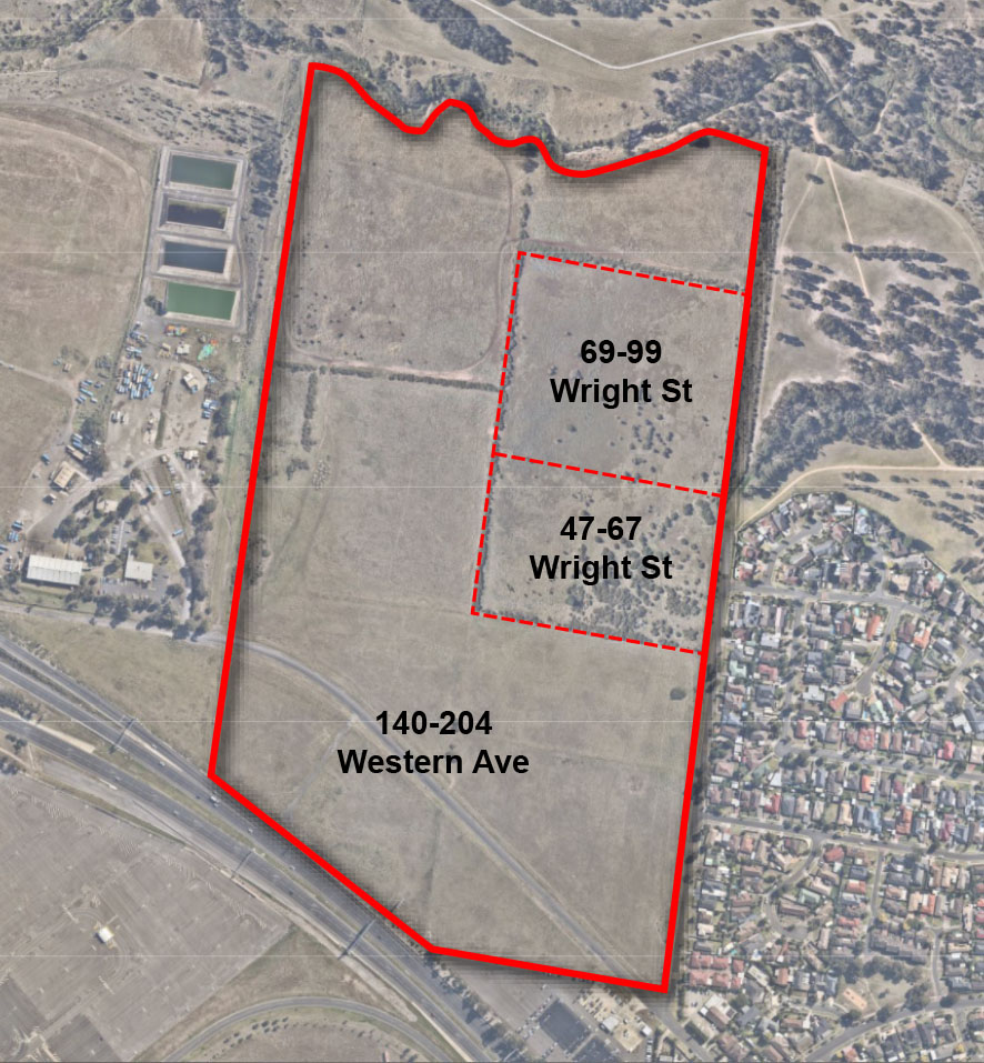 photo of area covered by amendment c250