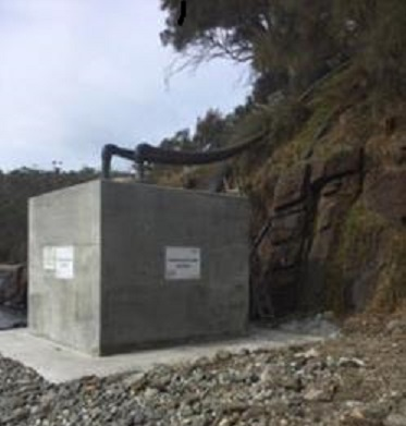 Upgraded de aeration chamber 2019