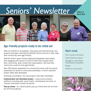 Ehq seniors newsletter tile