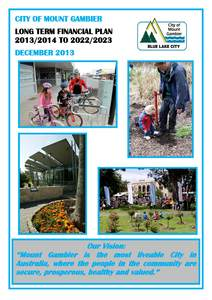 Long term financial plan cover december 2013