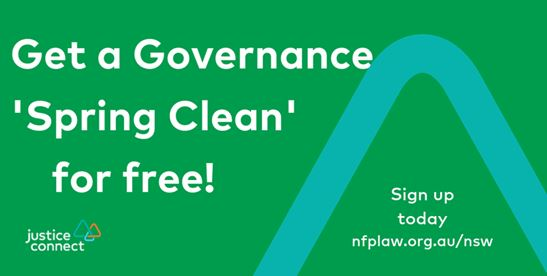Governance spring clean