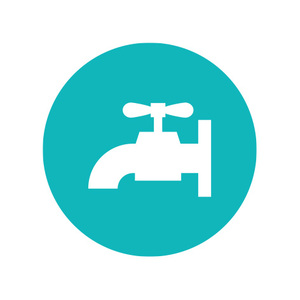 Plumbing and drainage icon