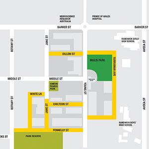 Newmarket map 360x360