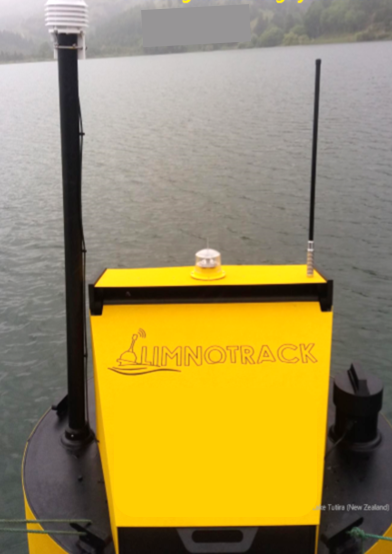 Limnotrack monitoring buoy