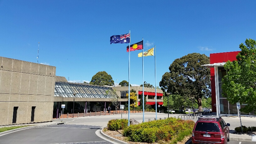 Flags nowra admin bldg 2016