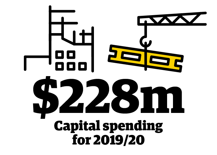 $228 million is the estimated capital spending for 2019/20