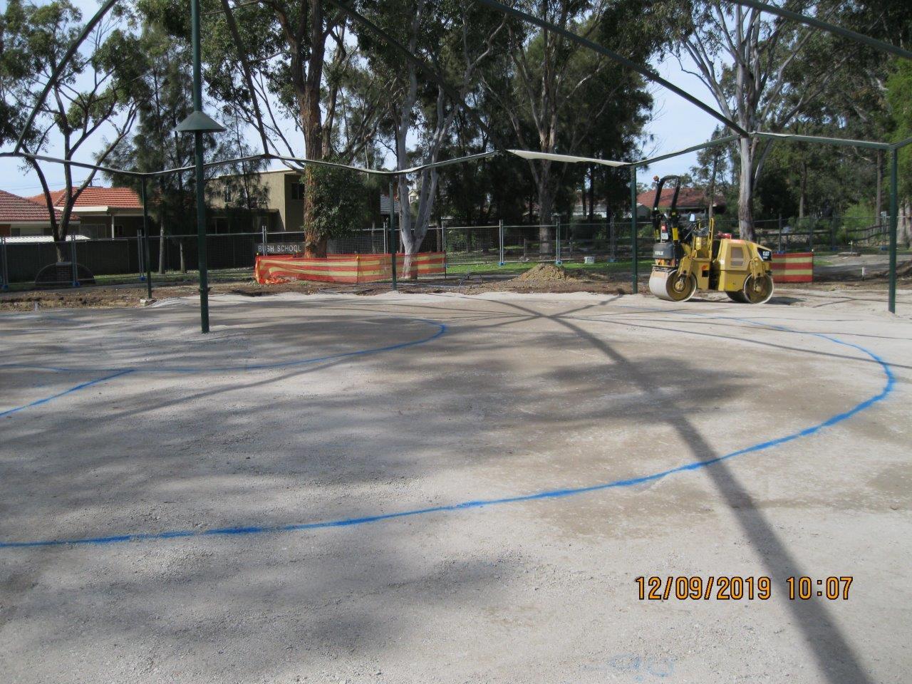 Site preparation underway