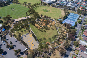 Hansen   overview aerial shot