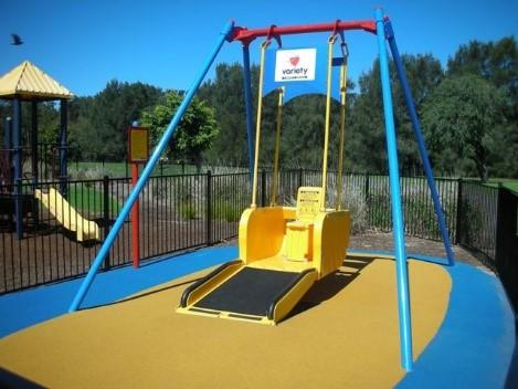 Town beach reserve playground