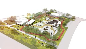 Concept plan site over view