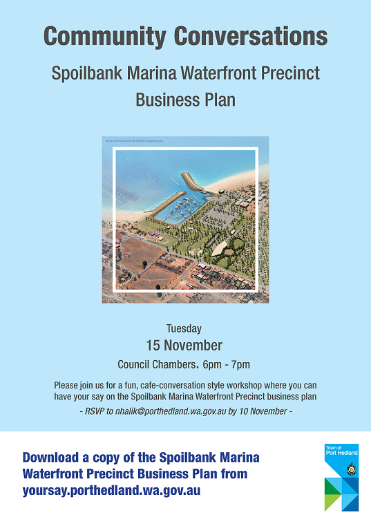 Community conversations marina 15nov