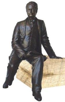 Edmund barton bronze