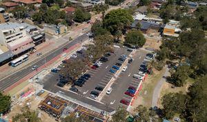 Narrabeen car park progress