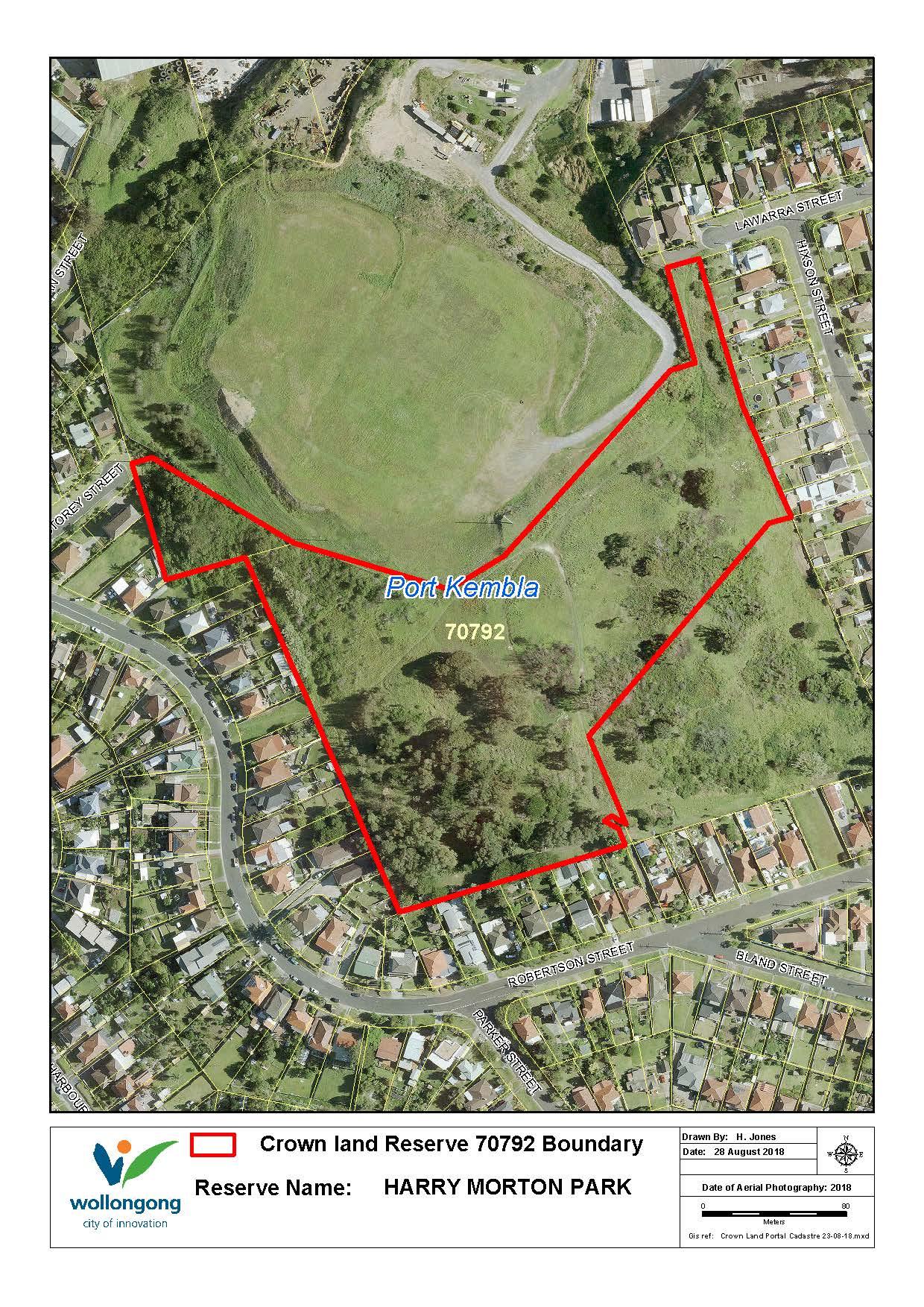 Harry morton park reserve 70792 map z19 81197