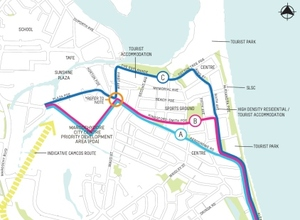 Maroochydore map small