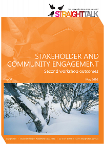 Perisher stakeholder report may 2016