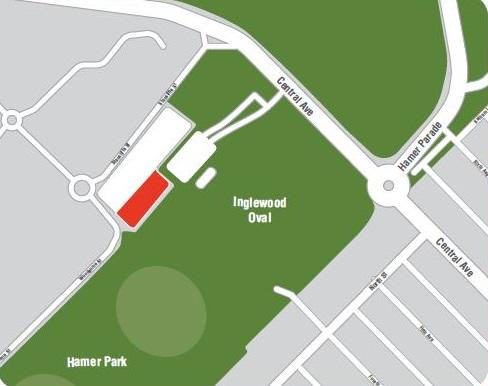 Location of community garden 1