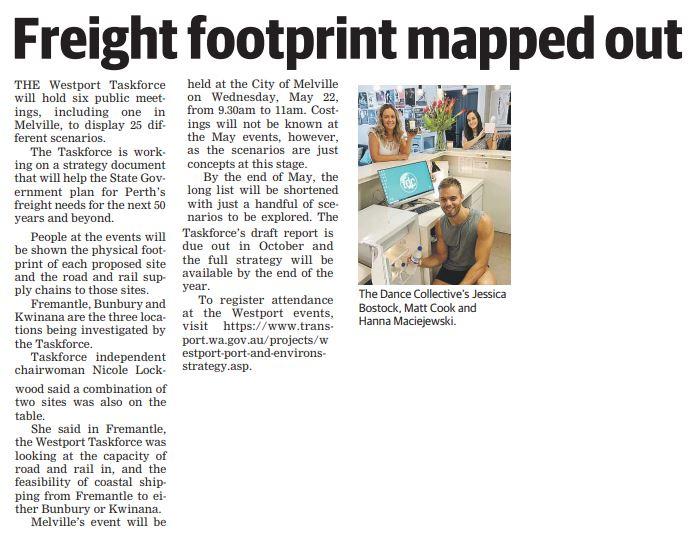 20190416 melville times   freight footprint