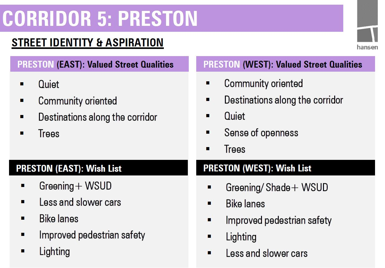 Preston aspirations