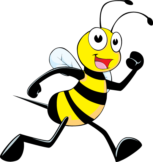Bee   walking