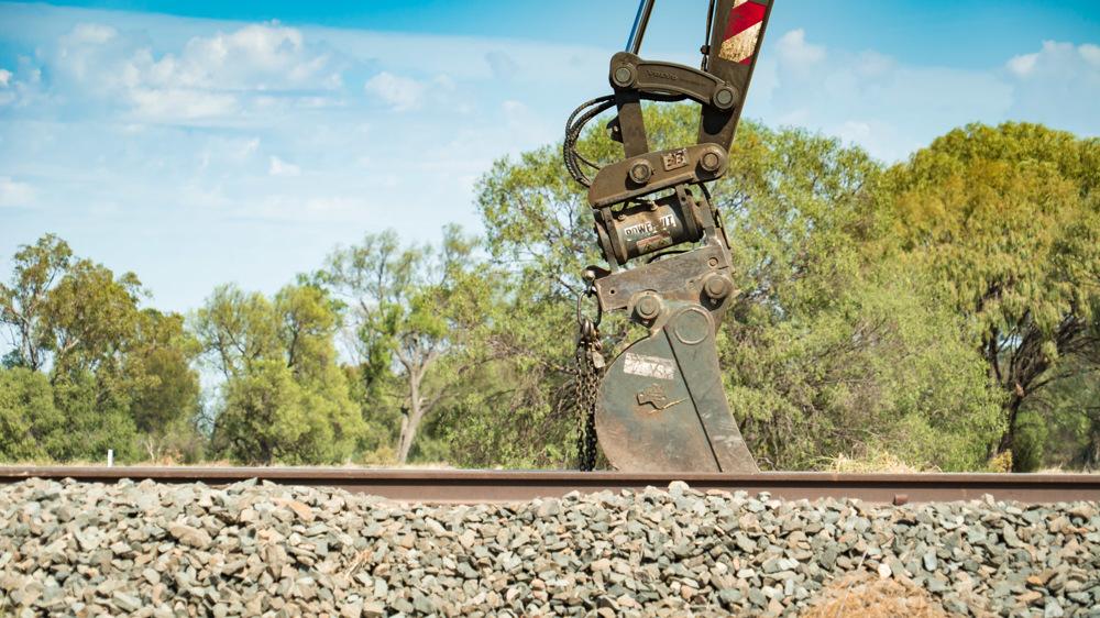 Rail maintenance narrabri