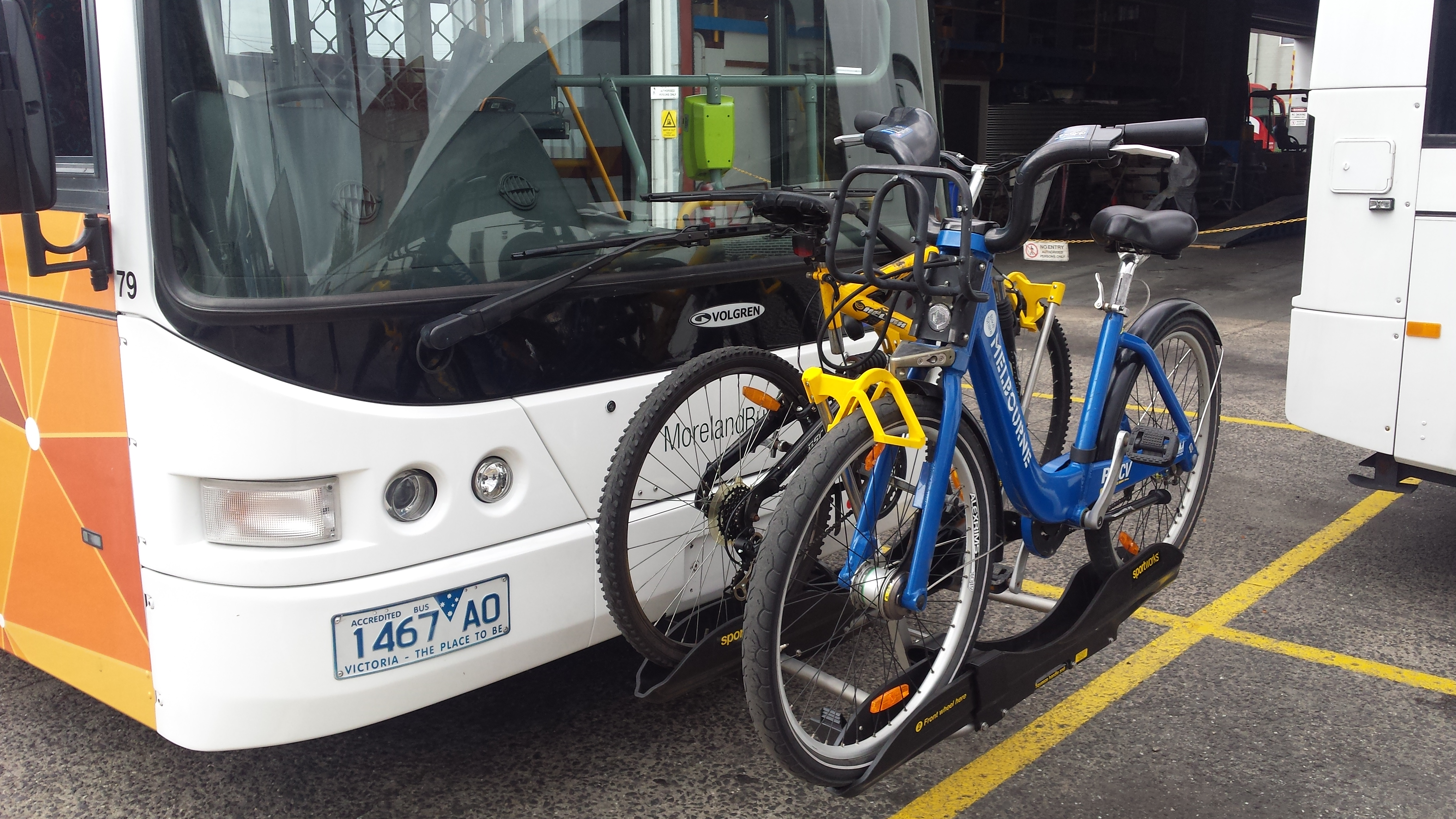Bus Your Bike Trial Get Involved Transport For Victoria