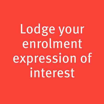 lodge your enrolment expression of interest
